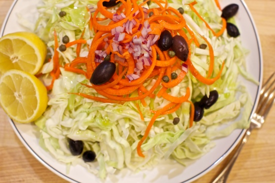 cabbage&carrotsalad
