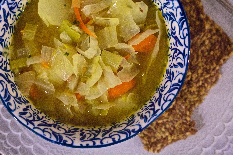 Cabbage-Vegetable Soup « thesparkledsidewalk